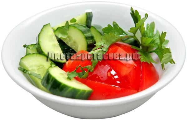 помидорно-огуречная диета